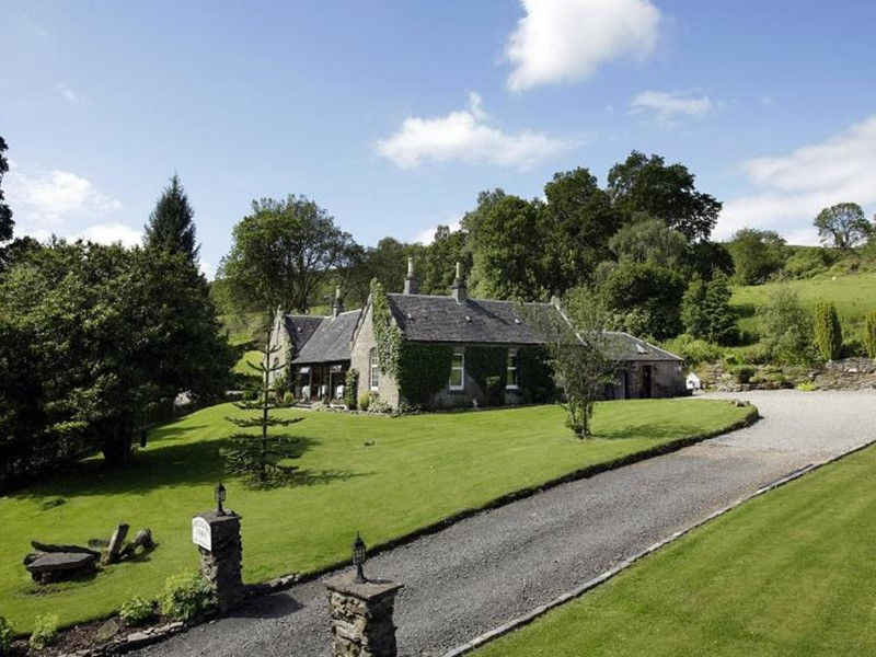 Self catering holidays to a farm in Loch Lomond, Scotland