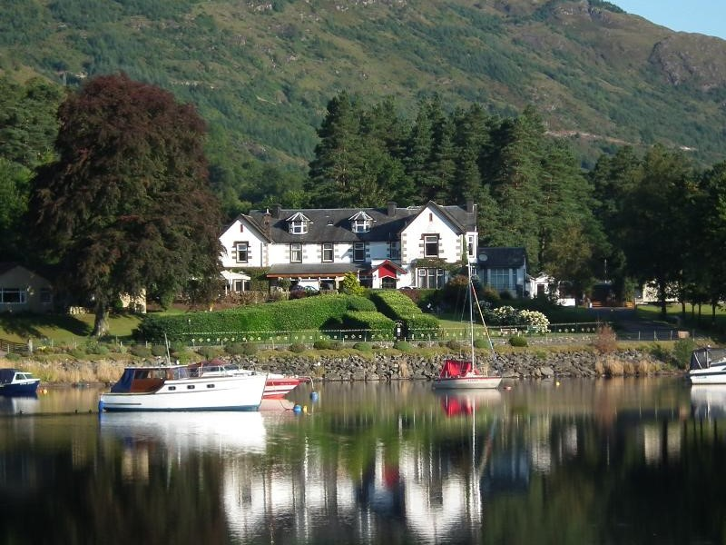 Loch Lomond Hotels with views over the loch in Scotland