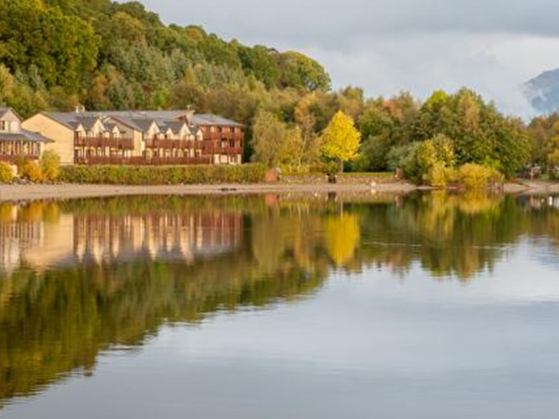 Holidays to Scotland with Hotel Accommodation overlooking Loch Lomond.